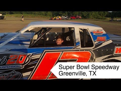 Super Bowl Speedway | Greenville, TX | Alfredo's First Time Watching Race Cars in Action