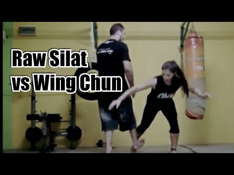 Wing Chun vs Raw Silat - How effective are applications of Wooden Dummy in Fighting!?