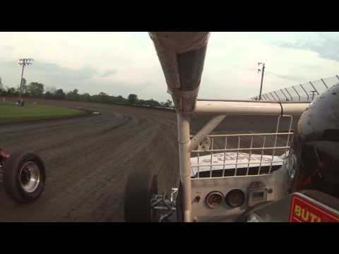 Gas City I-69 Speedway On-Board with Conner Donelson
