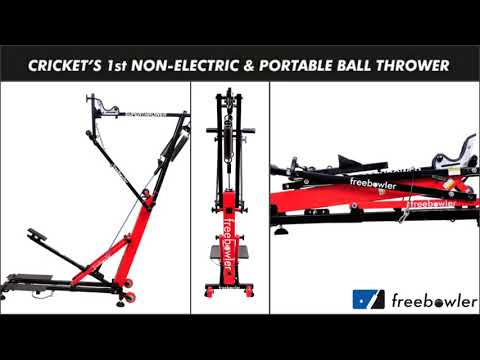 All About Freebowler_Superthrower | Cricket's First Non-electric Portable Bowling Machine