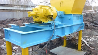 Дробилка для переработки стружки цветных и черных металлов (обзор)