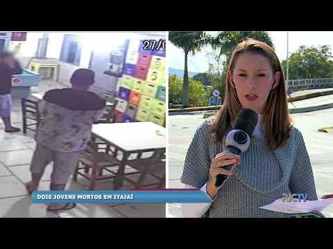 Dois amigos são mortos a tiros em Itajaí