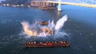 Bay Bridge Pier Implosion 30s clip - 14 November 2015
