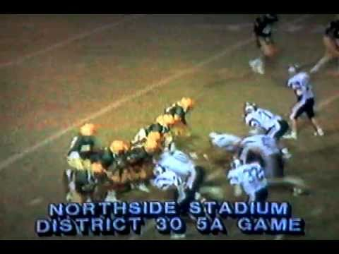 Classic Texas HS Football Game - 1986 Holmes Huskies vs. Clark Cougars