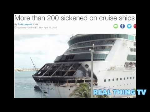 More than 200 sickened on cruise ships