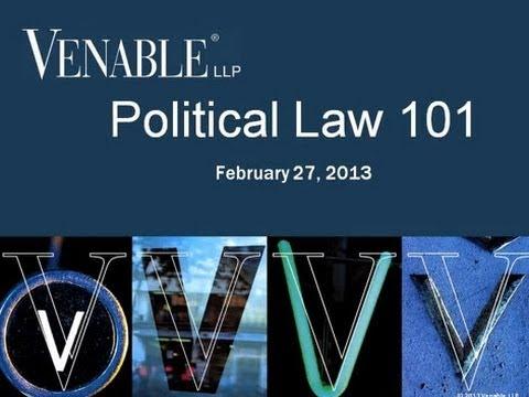 Political Law 101 - February 27, 2013