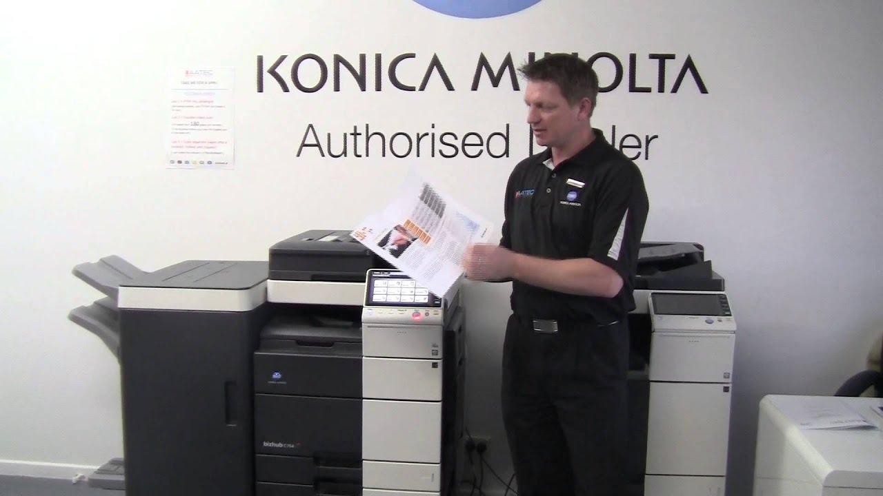 C1144 Konica Minolta C364e