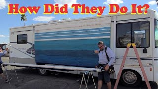 Fastest RV Awning Fabric Replacement I've Seen