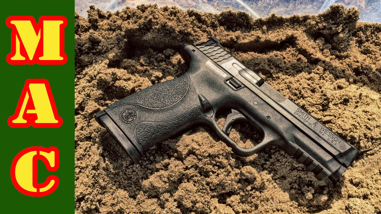 Reliability Test! M&P 9mm meets the Gauntlet - YouTube