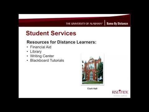 The University of Alabama's MSW (Primarily Online) Program