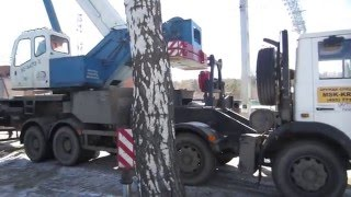 Работа 50 тонного крана(, 2016-03-16T15:45:44.000Z)