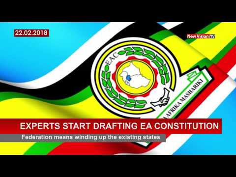 Experts start drafting East African constitution