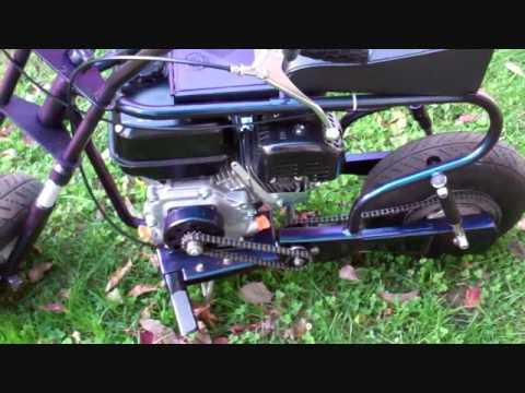 Restoration On Fox MiniBike,With a Motor