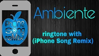 J Balvin - Ambiente_-ringtone with_-(Iphone Song Remix)