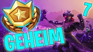 GEHEIMER BATTLE PASS STERN WEEK 7 SEASON 6 - LEVEL UP - FORTNITE BATTLE ROYALE ENGLISH