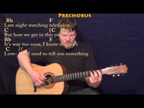 I Really Like You - Fingerstyle Guitar Cover Lesson in F with Chords/Lyrics