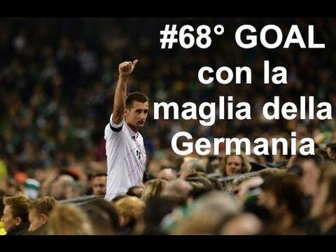 Miroslav Klose eguaglia il RECORD di Gerd Muller |2013| HD (Germania) 68° goal