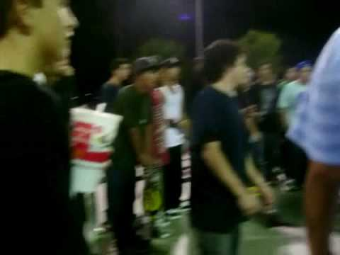 antwuan dixon drunk as hell about to fight......