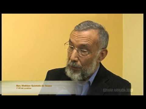 Depoimento do Rev. Mathias Quintela de Souza sobre...