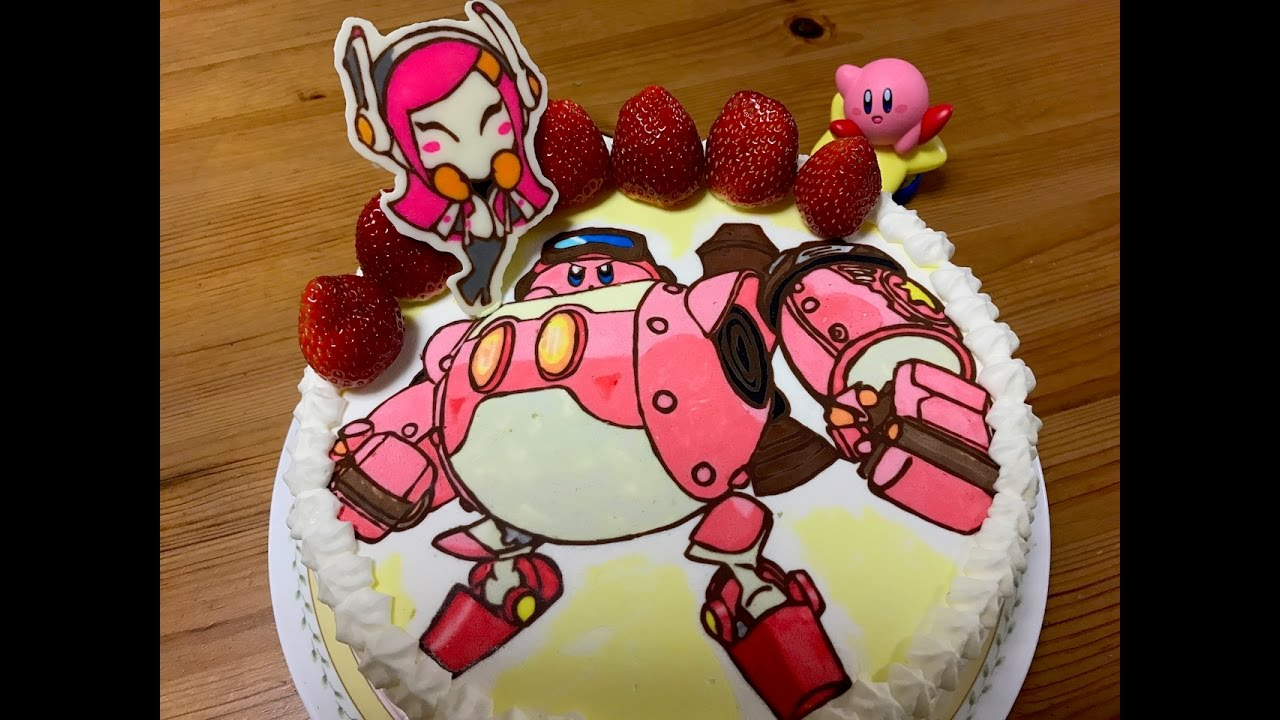 Create A Kirby Character Noll: キャラケーキの作り方 カービィ ロボボプラネット How To Make A Character Cake