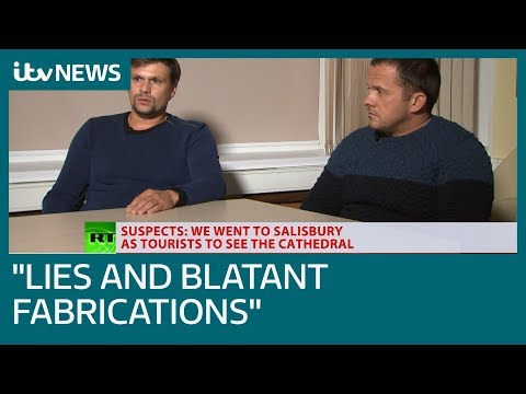 "Russia accused of ""lies and fabrications"" over Salisbury suspects interview 