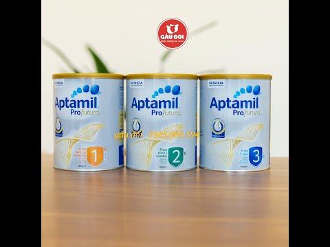 Sữa aptamil Úc Đầy đủ dinh dưỡng cho bé #Shorts | Gấu Đôi