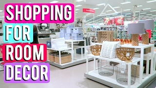 SHOPPING FOR NEW ROOM DECOR + VLOG HAUL! | Haleina Marie