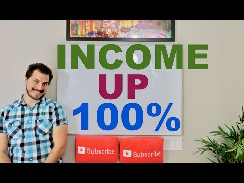 How To Double Your Income in 2018 (Easy)