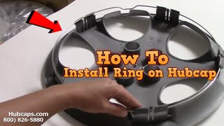 How to Install Retention Ring on Hubcaps - Hubcaps.com