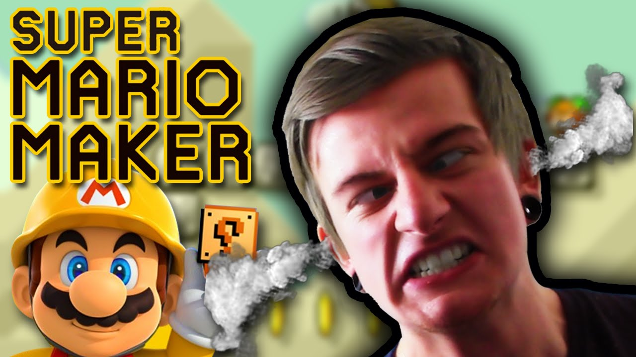 creating hell on earth super mario maker challenge