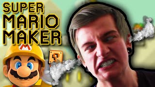 Creating Hell On Earth! || Super Mario Maker - Challenge Video!