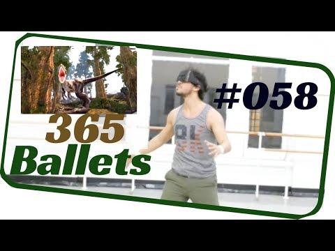 Vr Dance- Ballet Male Solo. Contemporary Ballet Male Solo./NYC Ballet 058