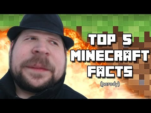 Top 5 Minecraft Facts