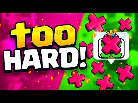 IT'S TOO HARD TO GET 20 WINS In CLASH ROYALE AHHH!!??