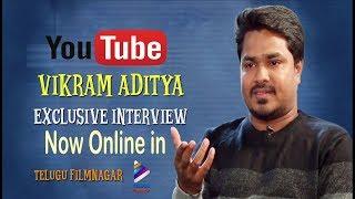 VIKRAMADITYA INTERVIEW FOR TELUGU FILMNAGAR | Face to Face with VikramAditya | PROMO |