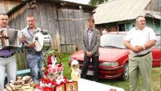 Турка - Бориня  Початок весілля, ранок