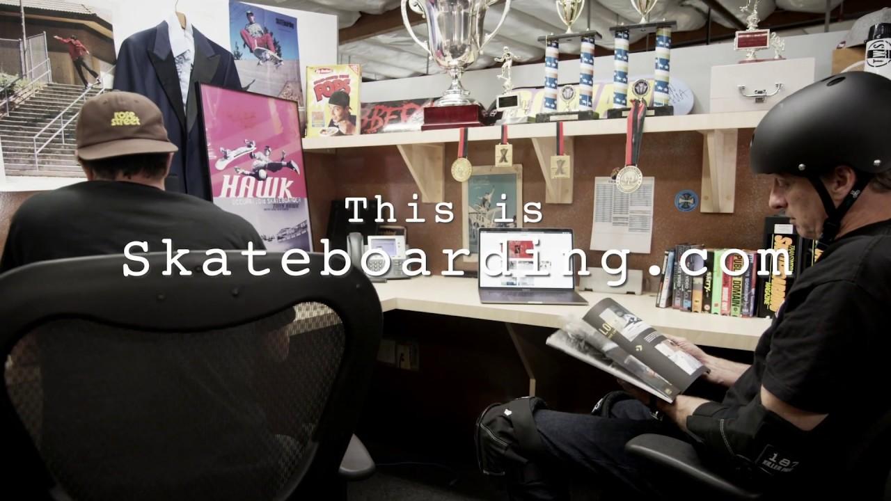 Tony Hawk - this is skateboarding.com