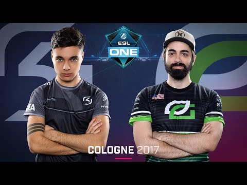 CS:GO - SK vs. OpTic [Mirage] Map 1 - Quarterfinal - ESL One Cologne 2017