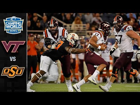 Virginia Tech vs. Oklahoma State Camping World Bowl Highlights (2017)