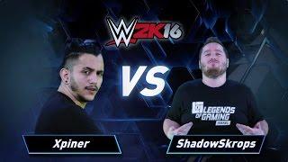 פרק 4: Xpiner vs ShadowSkrops - WWE