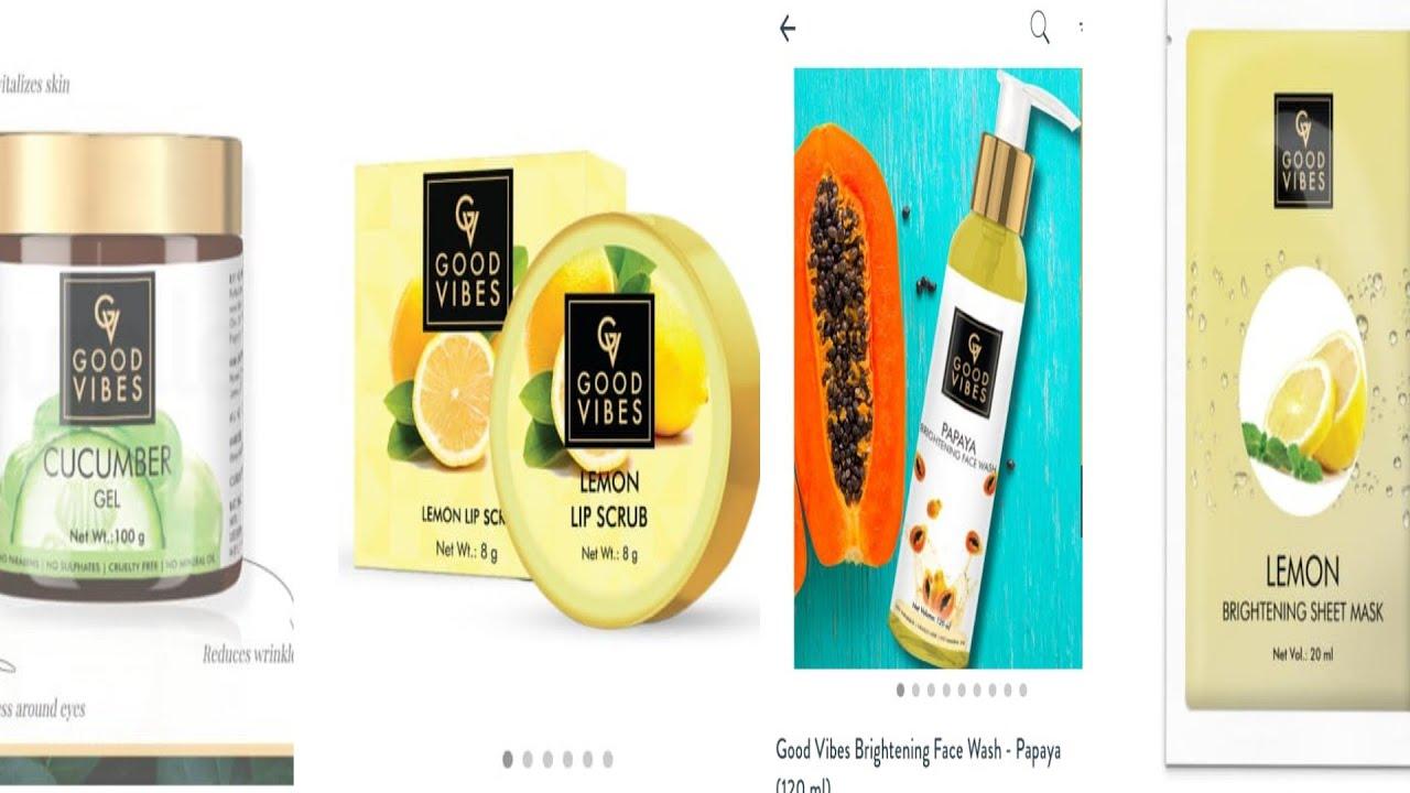 purple hull beauty products goodVibes b💋lip scrub cucumber jail papaya face wash lemon sheet mask
