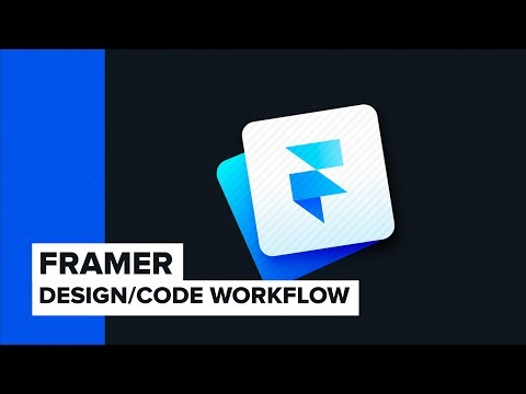 Prototyping in Framer - New Design / Code Workflow