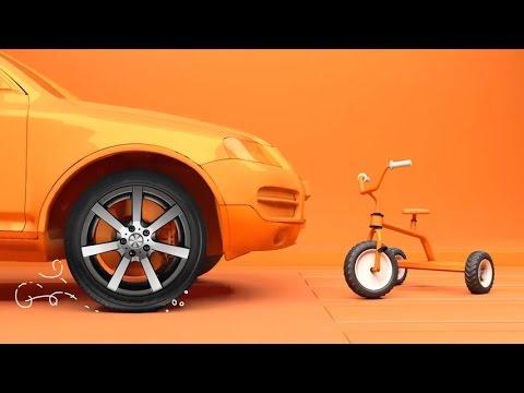 Yokohama BluEarth Tires With Orange Oil