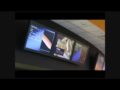 Digital Menu Boards - Showcase Cinemas