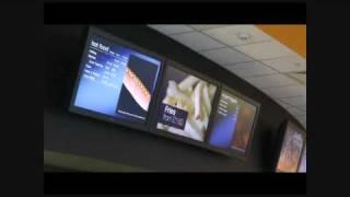 Digital Menu Boards - Showcase Cinemas