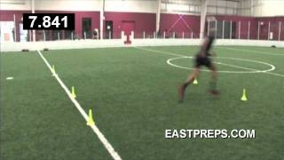 D2 D3 PRO DAY ANTHONY CARTER BRIDGEWATER COLLEGE RB COMBINE SOUTHEAST EAST PREPS REGIONAL
