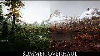TES V - Skyrim Mods: Summer Overhaul