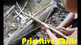 Primitive Technology: Make a Crossbow Primitive