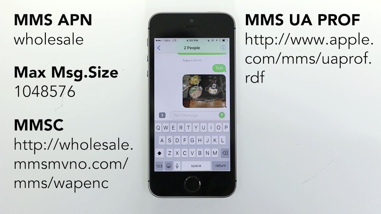 How to get Group and Picture Messaging working on Mint SIM!