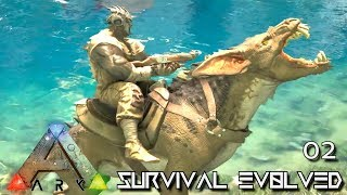 ARK: ABERRATION - NEW CREATURE RAVAGER TAMING E02 ( GAMEPLAY ARK: SURVIVAL EVOLVED ) !!!